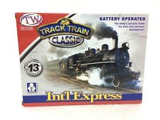 Electric Track Train Classic Set Int'l Express Real Fun Game Toy Girls & Boys