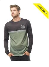 DFND London Mens Missile T-Shirt Long Sleeve Jersey Camo Top