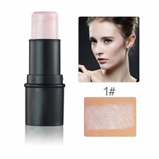 Waterproof Round Tube Highlighter Stick Enhance Complextion Cream Shimmer YF
