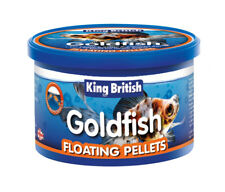 King British poisson rouge nourriture FLOTTANTE GRANULE aquarium Coldwater 35g