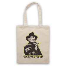 COME TO FREDDY KRUEGER UNOFFICIAL NIGHTMARE ON ELM ST TOTE BAG LIFE SHOPPER