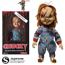 """15"""" TALKING CHUCKY GOOD GUY WITH SCARS ACTION FIGURE W/SOUND MEZCO CHILDS PLAY"""