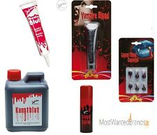 Jofrika sangue teatrale VAMPIRO SPRAY CAPSULE FINTO BLOOD HALLOWEEN TRUCCO