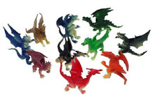 Fire Breathing Dragons 8 Pcs. Set Colorful One and Two Head Dragons, FBD-8ps