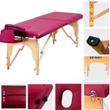 """84""""L Folding Portable Massage Table Bed Spa Beauty SalonFacial Therapy Couch Bed"""