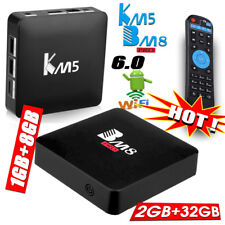 BM8 Pro 2GB+32GB Octa-Core KM5 1+8GB 4-Core Smart TV BOX Android6.0 Media Player