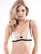 Mimi Holliday by Damaris Coquette White Silk Shoulder Bra