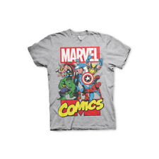 Officially Licensed Marvel Comics Heroes Men's T-Shirt S-XXL Sizes