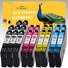 DESDE 1-20 No originales tinta compatible para Epson xp-335/xp-430 SERIE ink137