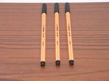 Stabilo Point 88 Black Fineliner Pens 88/46 Writing Art Drawing Fine 0.4mm