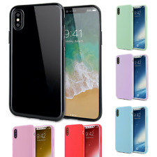 New Ultra Thin Rubber Silicone Case Gel TPU Soft Cover For iPhone X 8 / 8 Plus