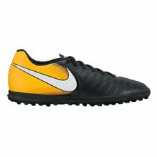 Nike TiempoX Rio IV (TF) Astro Turf Trainers - Black/Laser Orange