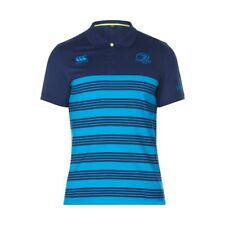 Canterbury Leinster Rugby Cotton Jersey Stripe Polo 17/18