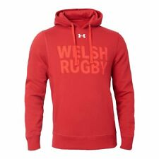 Under Armour GALLES RUGBY WRU Felpa con cappuccio 17/18-ddr