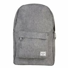 New Mens Herschel Grey Classic Polyester Backpack Backpacks