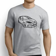Ford Focus RS 2016 Inspired Car Art Men's T-Shirt