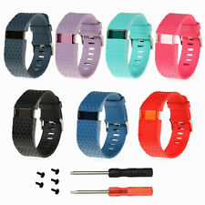 NEW Sports Silicone Watch Band Strap Bracelet for Fitbit Charge HR Wristband L/S