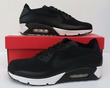 Nike Air Max 90 Ultra 2.0 Flyknit Black/White Men's Trainers Sizes 9 & 10 UK