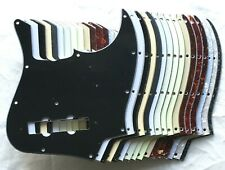Jazz Bass 62 Reissue Pickguard for 60s RI: various colours 1 3 4 ply