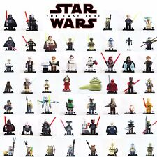 LEGO MINIFIGURES STAR WARS DARTH VADER - YODA - KYLO REN - LAST JEDI CUSTOM LIKE