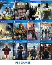 PS4 Game Bundle! Black ops Warfare Battlefield Front Dogs Fifa Fallout Uncharted