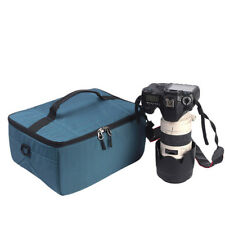 Partition Folding Flexible Padded Camera Lens Insert Bag Dividers Case Cove Pop*