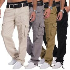 uomo pantaloni combat Tremaine Loose Fit cargo casual militare worktrousers