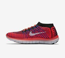 Nike Free RN Motion Flyknit Mens Running Trainers 834584-600,Sneakers UK 9,