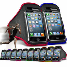 "For Oukitel K7000 (5"") Running Jogging Sports Gym Armband Mobile Holder Case"