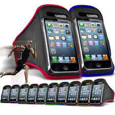 "For ZTE Blade A601 (5"") Running Jogging Sports Gym Armband Mobile Holder Case"