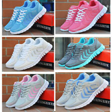 Women Ladies Running Trainers Sneakers Ultra-Light Sports Athletic Tennis Shoes
