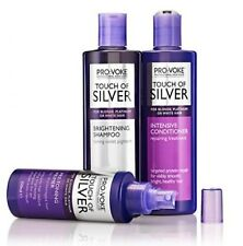 ProVoke Touch of Silver Colour Care Shampoo, Conditioner & Brightening Shampoo