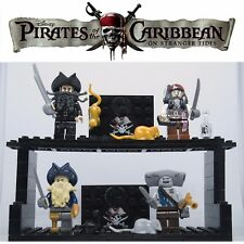 LEGO MINIFIGURES PIRATI CARAIBI JACK SPARROW SILENT MARY PIRATI CUSTOM LIKE
