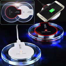 Qi wireless chargerClear Qi Wireless Fast Charger Charging Pad fr Samsung Galaxy