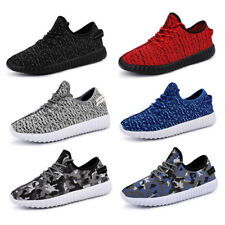 Mens Womens Unisex Sneakers Breathable Soft Trainers Athletic Sports Shoes Size