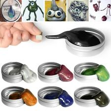 MAGNETIC GLITTER PUTTY MOVES HAND SLIME PLAY PLASTICINE DOUGH RUBBER MAGIC UK