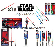 Star Wars Bladebuilder Lightsaber -Extendable/Electronic- Red/Blue/Green-New
