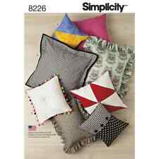 Simplicity Sewing Pattern 8226 Easy Pillows