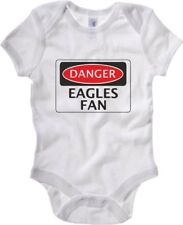 Body neonato WC0289 DANGER CRYSTAL PALACE EAGLES FAN FOOTBALL FUNNY FAKE SAFETY