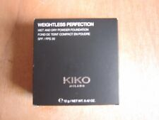 KIKO WEIGHTLESS PERFECTION WET & DRY POWDER FOUNDATION 12G**NEW FREE P&P**