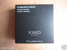 KIKO FLAWLESS FUSION BRONZER POWDER 12G**NEW FREE P&P**