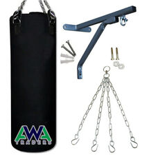 3FT Punching Bag / Hanging Bag Unfilled with Swivel Chain and Standard Bracket