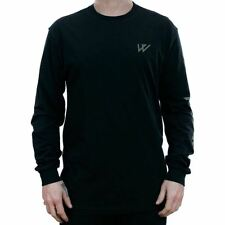 Wayward Logo Longsleeved T-Shirt Black Tee New In Limited Release Free Delivery