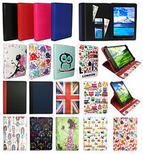 Universal Wallet 360 Rotating Case Cover Folio for InnJoo F801 8 Inch Tablet PC