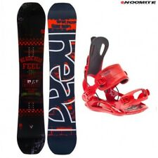 set tabla snowboard head course dct 150 153 156 + fijaciones rage FT