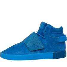 * SALE Adidas Originals Mens Tubular Invader Strap Trainers Blue Sneakers BB1170