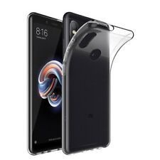 TPU Silicon Clear Case For Xiaomi Mi 8 A1 A2 Lite Mix 3 Pro F1 Black Shark Helo