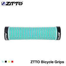 1Pair ZTTO MTB Handlebar Grips Silicone Gel Lock on Anti slip Grips for MTB Bike