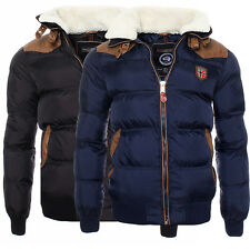 Geographical Norway uomo Inverno Giacca Trapuntata giacca invernale S XXL NUOVO
