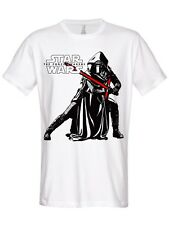 STAR WARS KYLO REN POSE Camiseta (Blanco)